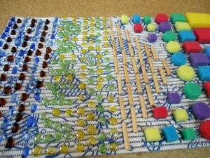 Массажные дорожки для детского сада своими руками
