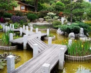 Ландшафтный дизайн японский стиль