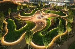 Дизайн парка